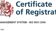 ECOPAC SECURE REGISTRATION TO ISO9001:2008