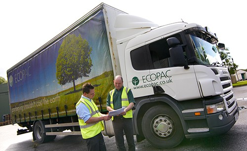 ecopac driver with delivery